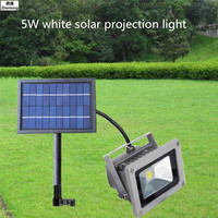 Solar Projection Light 5WLED Outdoor Lighting Energy saving Waterproof Projection Lamp Landscape Home Garden Lawn Led High Power