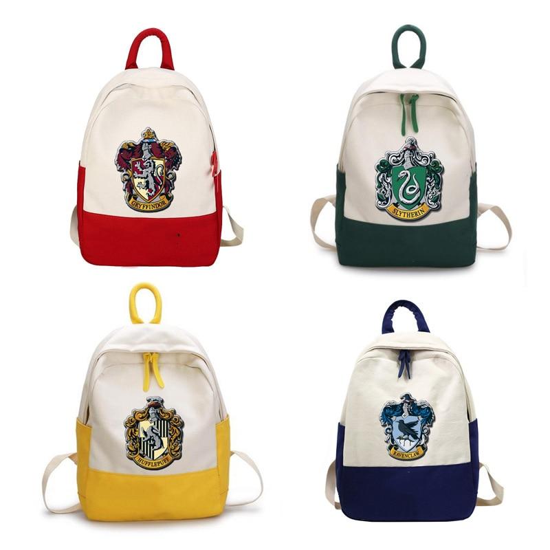 Harri Hermione Bag Toys Backpack SchoolBag Model Gryffindor Badge Magic Badge Gift