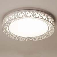 Ninho de pássaro luz teto led lâmpada moderna montagem embutida luminárias para sala estar quarto nordic casa decoração