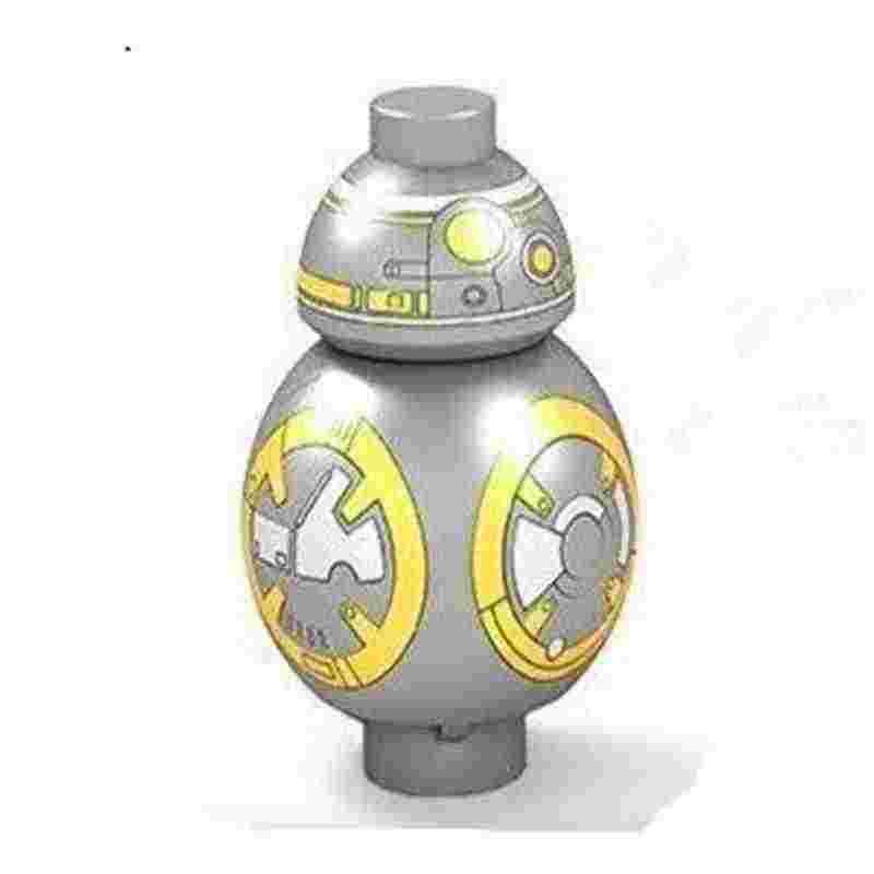 Mailackers บล็อกของเล่น & งานอดิเรกตัวเลข Star Wars R2D2 หุ่นยนต์ Sith R2-D2 BB8 Trooper ทหาร Starwars อาวุธสร้างบล็อกชุด