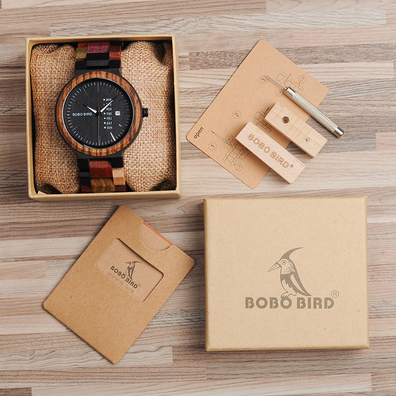 wooden watches for men bobo bird wrist watch (52)