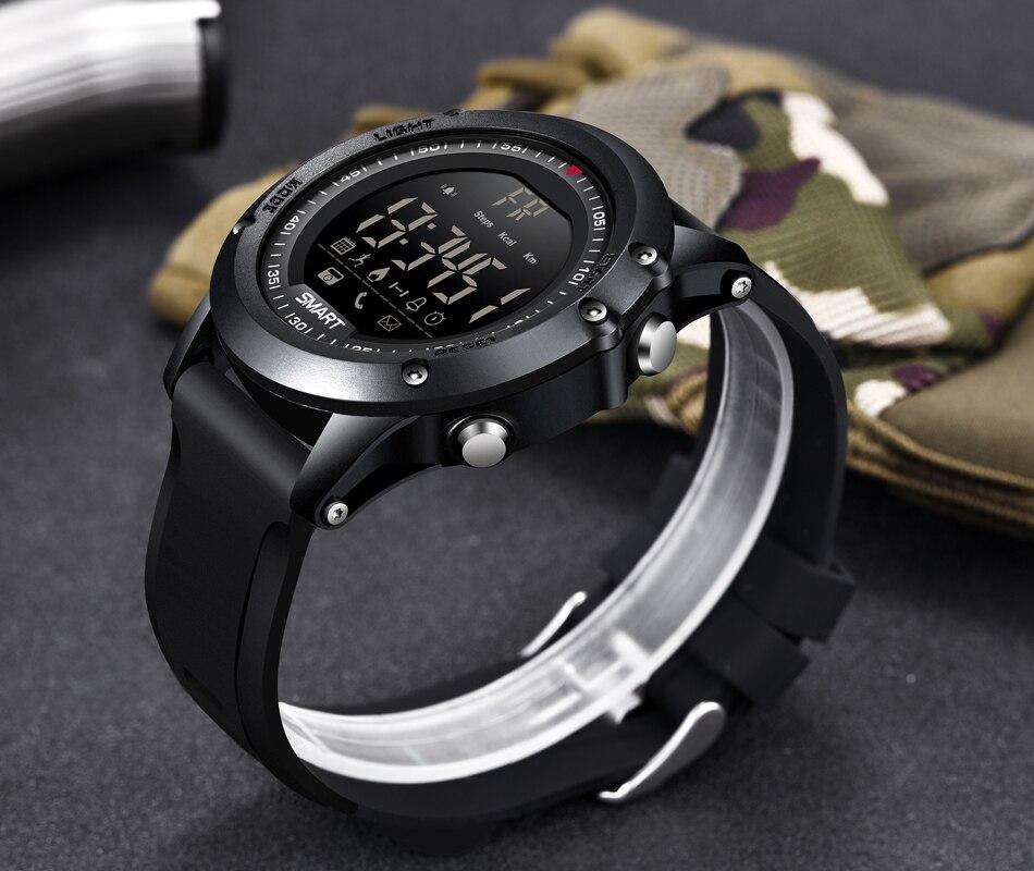 US $19 79 91% OFF|LIGE Sport Smart Watch Men Multifunction Digital Clock  Bluetooth Pedometer IP68 Waterproof Smart Electronic Watch Relogios-in  Smart