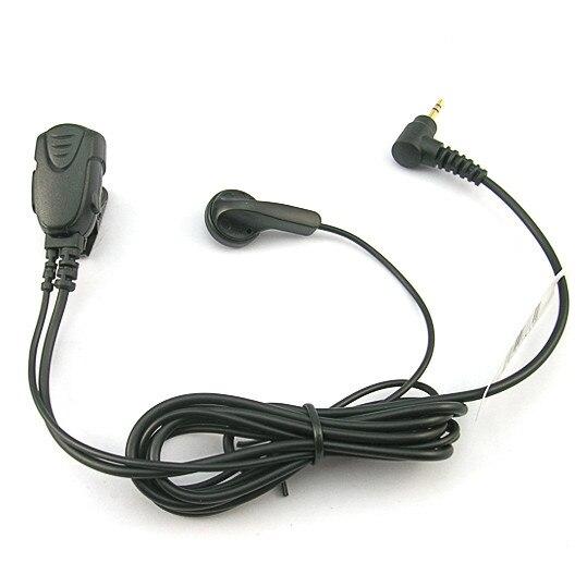 10pcs 2.5mm mono jack Listen Only Earpiece Earphone for 2Way Radio Walkie Talkie