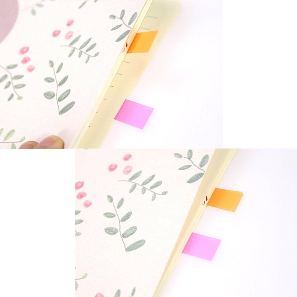 5 color reutilizables divisor notas adhesivas índice Tabs, 20 unids ...