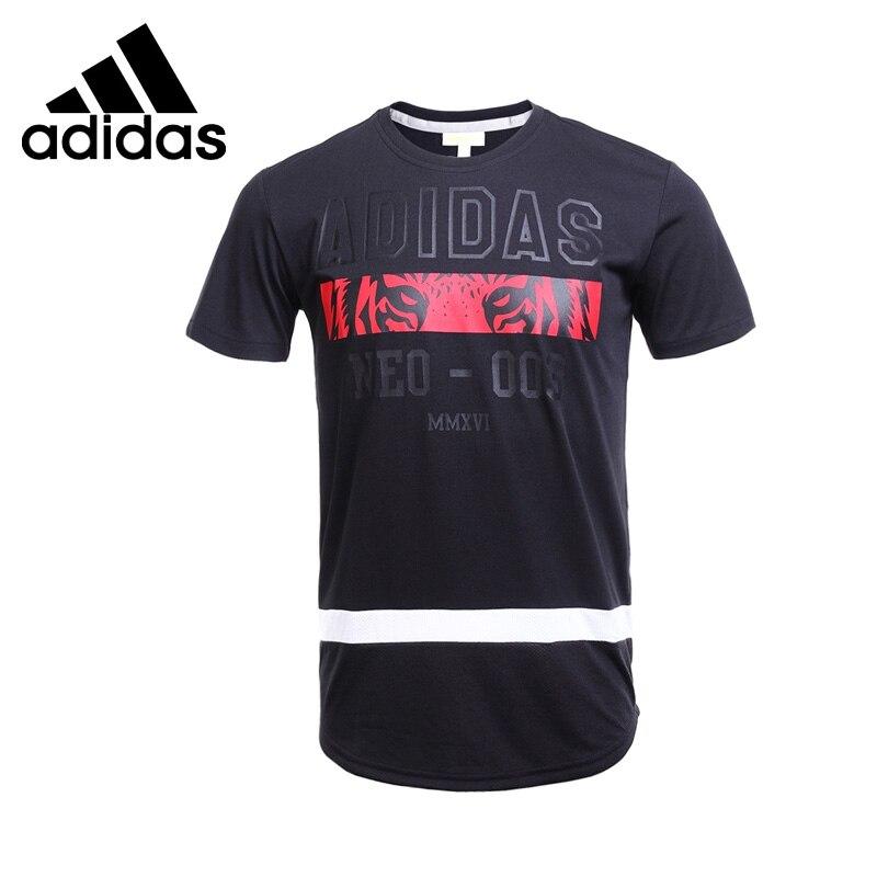 ФОТО Original New Arrival  Adidas NEO Label M COL T 2 Men's  T-shirts short sleeve Sportswear