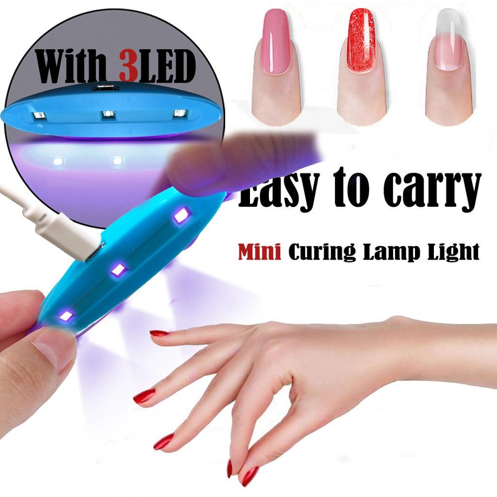 Nail Dryers UV LED Nail Lamp Polish Dryer LED Environmental ProtectionPortable Mini USB Nail Machine Lamp Nail Repair Lamp #40