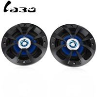 LABO 2PCS LB PP2402T Car Speaker 4 Inch Som Automotivo Auto Sound Systems With Tweeter High Sensitivity Loud Sound Clear Tone
