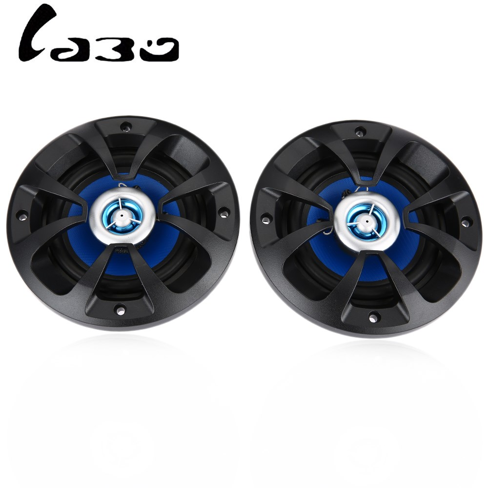 LABO 2PCS LB-PP2402T Car Speaker 4 Inch Som Automotivo Auto Sound Systems With Tweeter High Sensitivity Loud Sound Clear Tone