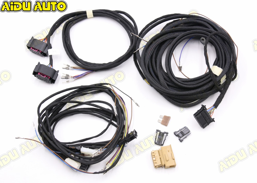 Blind Spot Side Assist Wire cable Harness USE For VW AUDI A4 B8 Q5 A5 B8