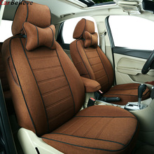 Car Believe leather Auto car seat cover For mazda cx-5 mazda 3 bk 6 gh gg 626 cx-7 demio car accessories seat covers protector car steering wheel cover auto accessories for mazda mazda 3 bk bl 323 mazda 5 6 2003 2004 2006 2007 2016 2017 gg gh gj 626