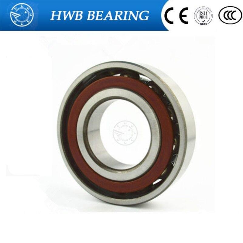 30mm diameter Angular contact ball bearings 7206 CM 30mmX62mmX16mm Brass cage ABEC-1 Machine tool ,Blowers 75mm diameter four point contact ball bearings qj 215 n2q1 p63s0 75mmx130mmx25mm abec 3 machine tool blowers