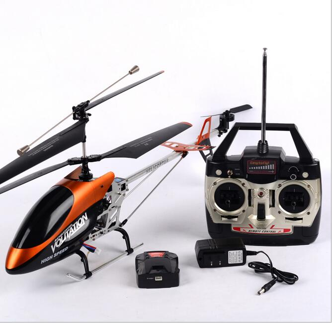 67cm big Metal rc helicopter 3.5ch Gyro helicopter model plane RTF radio control High Speed rc drone Remote Control  toys gift original rc helicopter 2 4g 6ch 3d v966 rc drone power star quadcopter with gyro aircraft remote control helicopter toys for kid