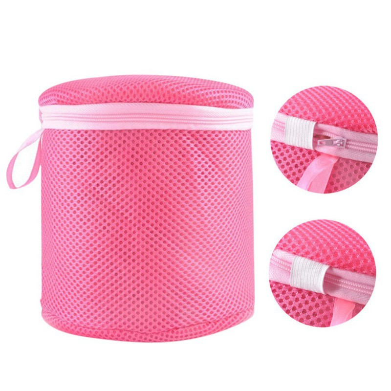1 pcs Women Stockings Lingerie Bra Wash Protecting Wash Bag Mesh clean washer Practical Aid Laundry bag New