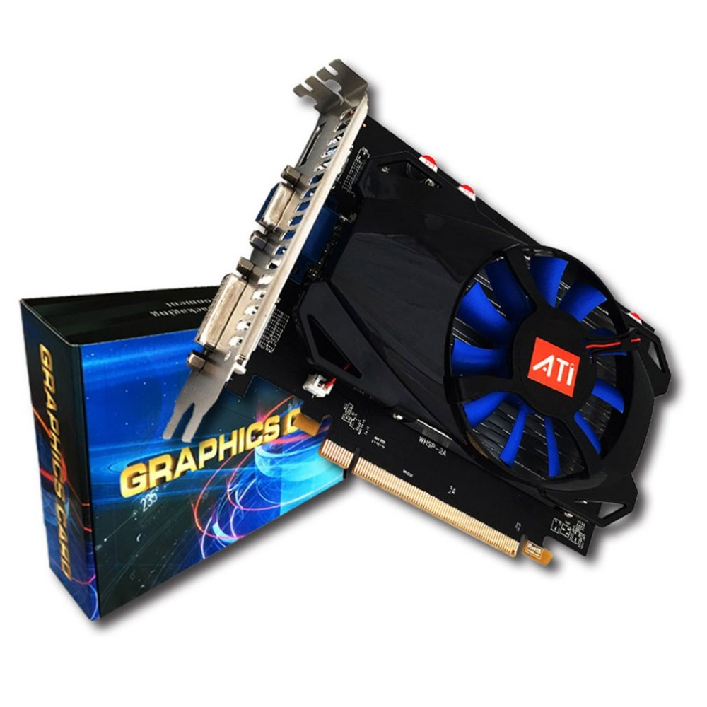 Professional R7-350 4G Gaming Video Graphics Card For Desktop 4G GDDR5 128 Bit HDMI & VGA & DVI Port Support 4K Resolution vg 86m06 006 gpu for acer aspire 6530g notebook pc graphics card ati hd3650 video card