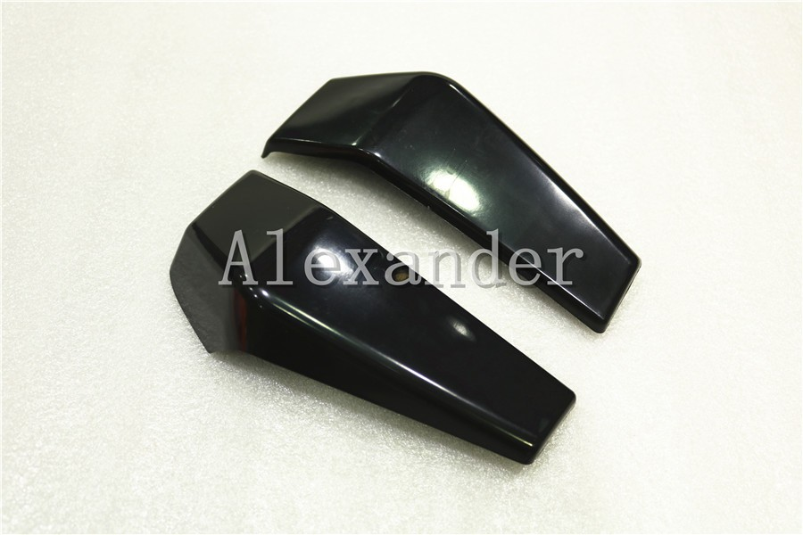 black Plastic Motorcycle Radiator Side Cover Guard Protector Pelon For KTM DUKE 125 200 390 2012 2013 2014 2015 2016 KTM390 for 2012 2015 ktm 125 200 390 duke motorcycle rear passenger seat cover cowl 11 12 13 14 15