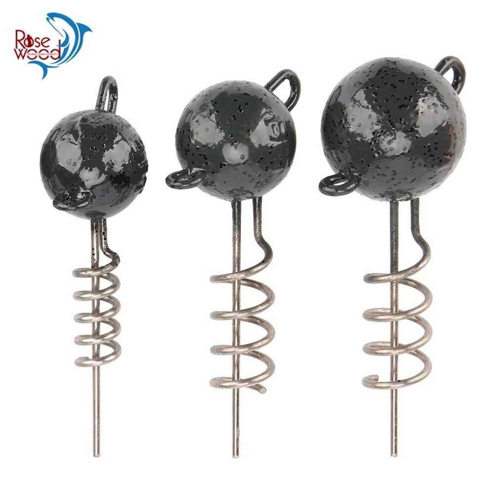 RoseWood Full New Mold Jigs 7g/10g/15g/20g/25g/30g/50g Inshore Flexhead  Swimbait Jig Head For Rigging Softbaits Accessories