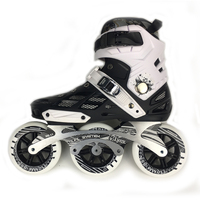 Japy Skate 3*110mm Wheels Inline Skates Adult Roller Skating Shoes Street Speed Patines Urban Free Skating Racing Shoes 3 Colors