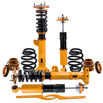 Coilover Suspension Shock Absorber Strut for BMW E36 3 Series 318i 318is 318ic 323i 316i 318is 320i 323i 325i 328i M3 1990-1999 for bmw e46 3 series m3 2001 2006 rear air suspension airspring double bellows rubber shock absorber pneumatic parts