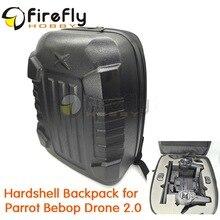 Parrot Bebop Drone 2.0 Hardshell Backpack Shoulder Bag Carrying Case Hard Shell Box Waterproof Shock-proof