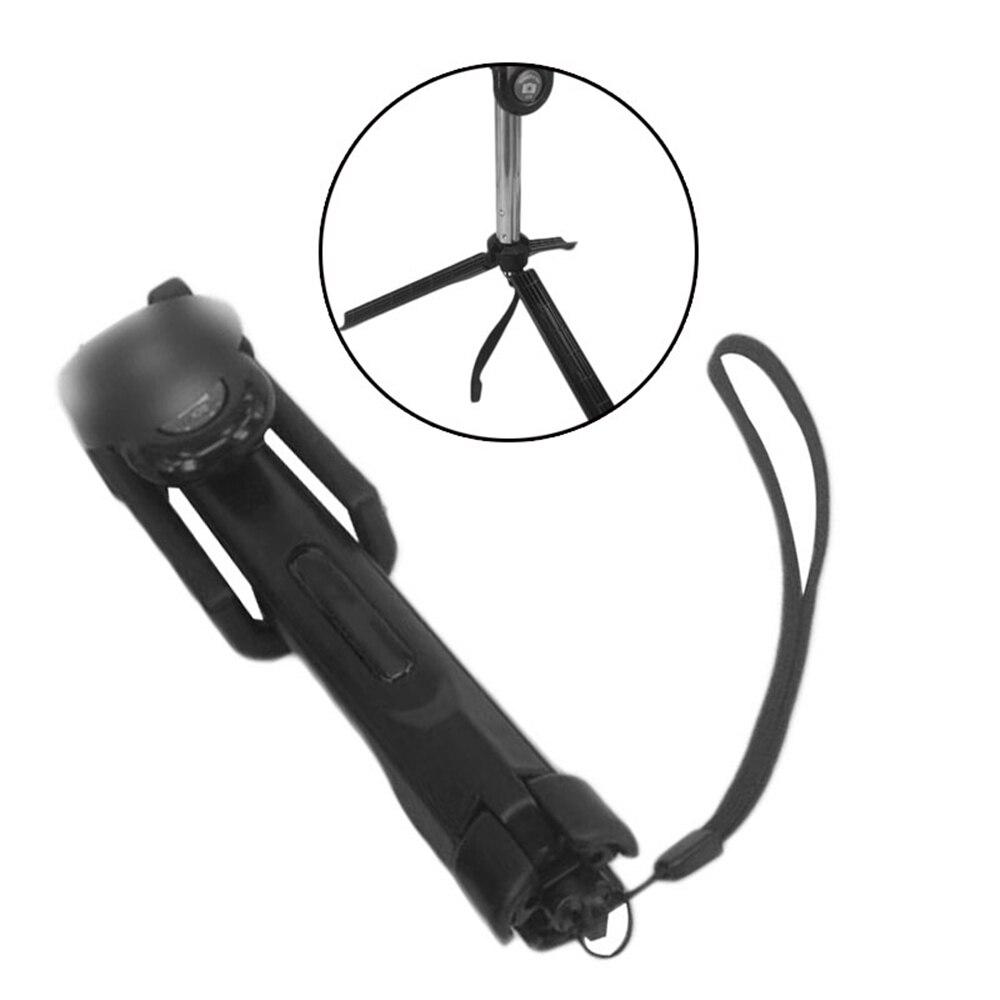Portable Phone Selfie Stick Bluetooth Monopod Tripod Remote Controller Battery Shutter Stable Compact Light