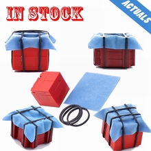 Weapon-Box Figures Building-Blocks Military-Kit Chicken-Game Pubg-Series Moc Model-Airdrop