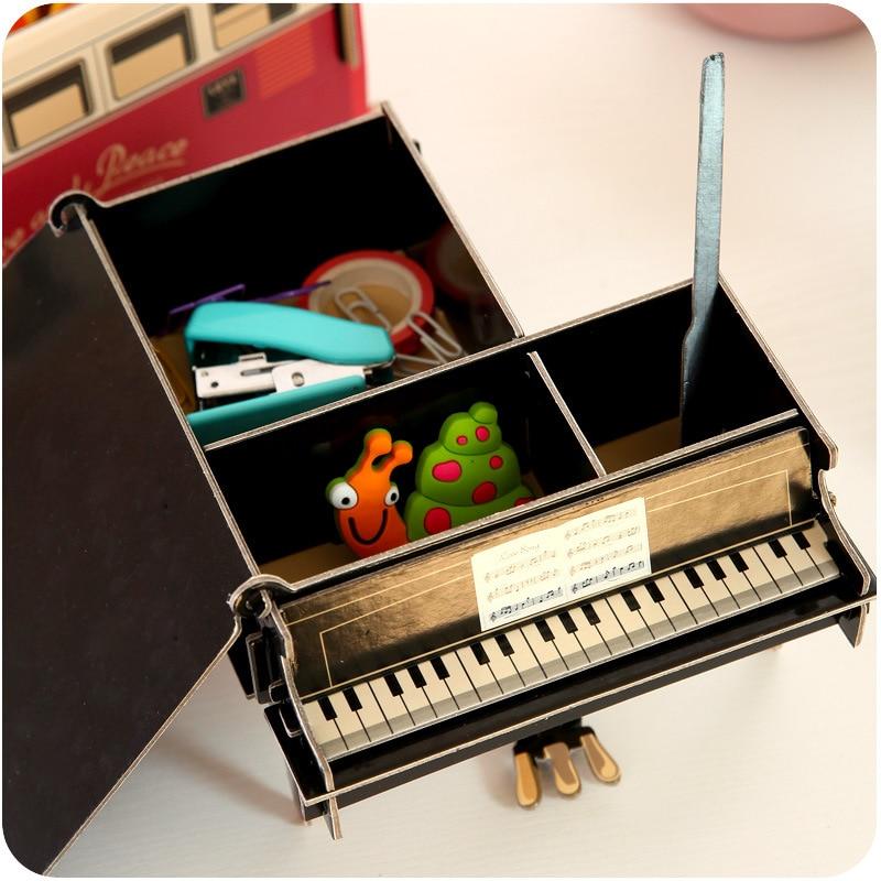 Eworld Творчі DIY Картон Настільний Pen Holder - Організація і зберігання в будинку - фото 6