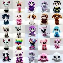 Elephant and Monkey Plush Doll Toys for Girl Rabbit Fox Cute Animal Owl Unicorn Cat Ladybug 6 10-15cm
