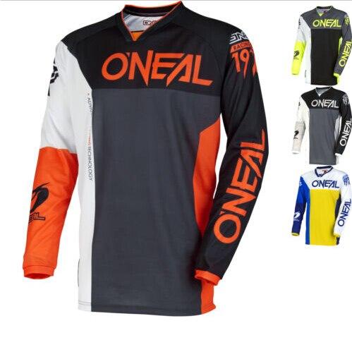 2018 tee shirt motoing perspiration cross-country T-shirt breathable downhi motorcycle Long sleeve mountain bike riding shirt