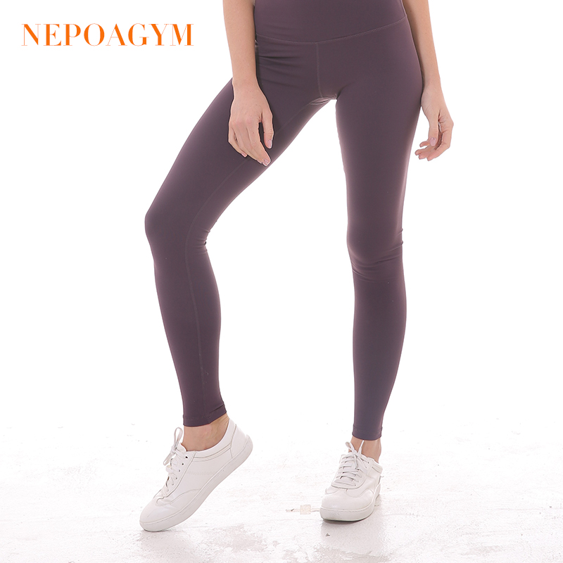 11427d37554023 Nepoagym Women High Waist Yoga Leggings Squat Proof Yoga Pants with Hidden  Pocket Sports Tights Moisture wicking Fitness Pant-in Yoga Pants from Sports  ...