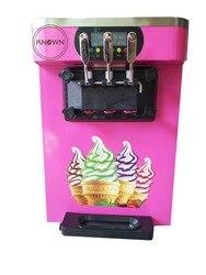 Blat o dużej pojemności gelato mini miękkie lody milkshake automat sprzedający 3 smaki maszyna do lodów 18-22L/H z pompą powietrza
