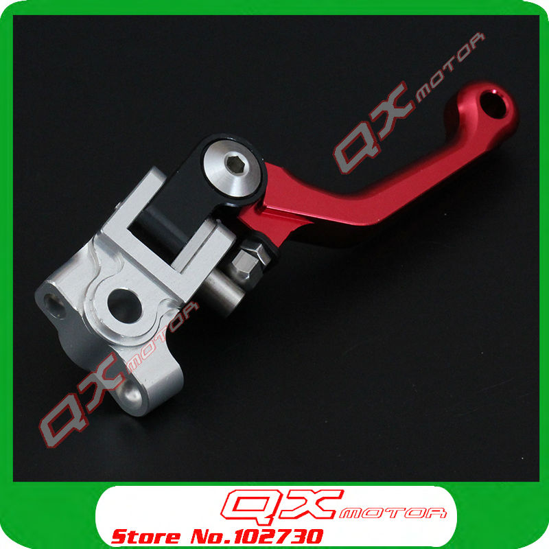 07-15 CRF250R CRF450R Dirt Bike MX Motocross Enduro Motorcycle Modify Brake lever CNC Foldable Front Brake Levers Free shipping cnc pivot brake clutch levers for honda crf250r crf450r 07 15 crf motocross enduro supermoto dirt bike racing offroad motorcycle