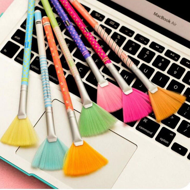 Top Sale New Good Keyboard Screen Cleaning Kit for LCD TV Tablet Phone iPad Laptop Computer Practical Portable Keyboard Brush