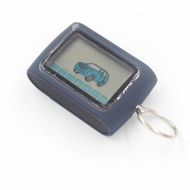 LCD Remote Control Key Fob Chain for Russian Two Way Car Burglar Alarm System Twage Starline D94