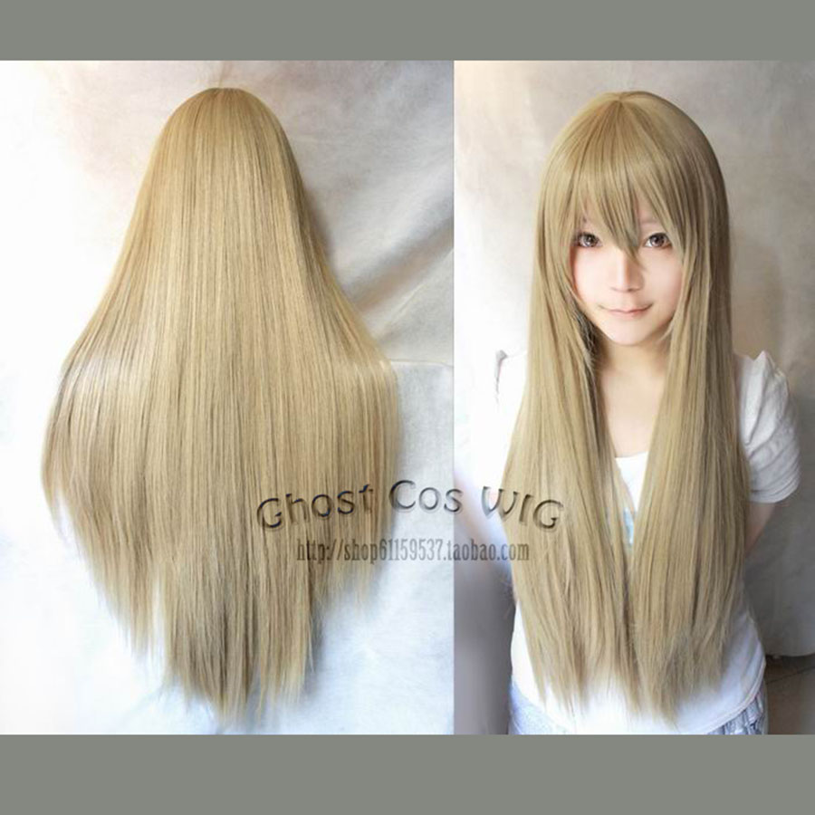 Anime Axis Powers Hetalia APH Belarus Linen Brown Cosplay Hair 80CM Long Straight Heat Resistant Wig Synthetic - HangZhou BOBO Co., Ltd store