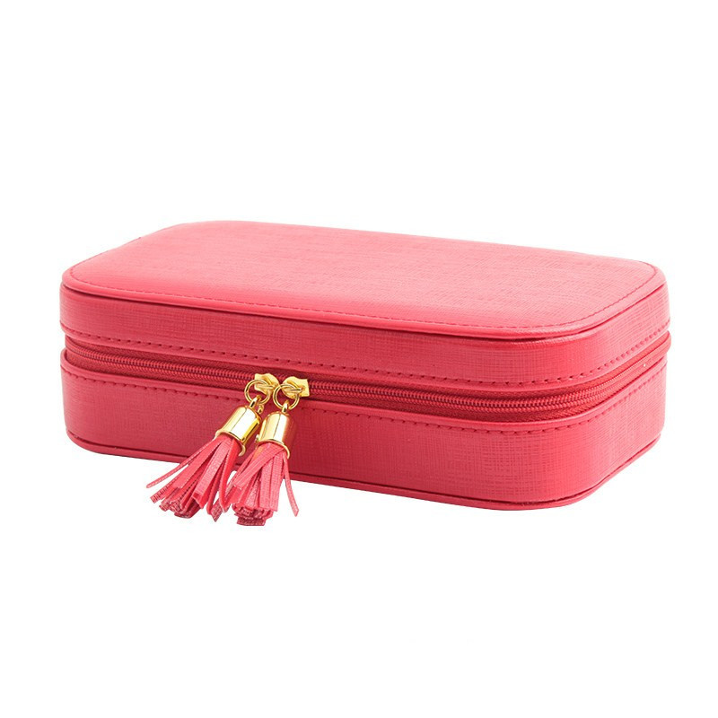 LIYIMENG Jewelry Casket Packaging Container For Exquisite Makeup Case Cosmetics Beauty Organizer Boxes Graduation Birthday Gift