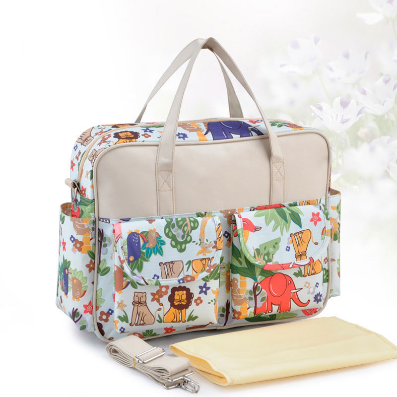 Pregnant Women Multi-function Messenger Mummy Bag Fashion Diaper Bag Portable Travel Baby Bag Hanimom