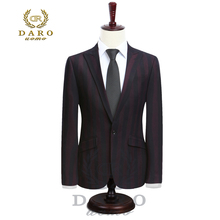 Фотография (Only Jacket)2017 DARO Mens Suit terno Slim Fit Casual one button Fashion  Blazer Side Vent Jacket for Wedding Party (DR8039)