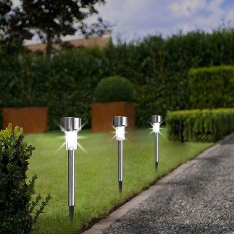 energia solar luzes ao ar livre paisagem
