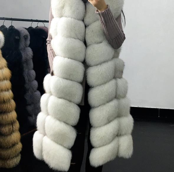 Clobee Plus Chaud De Gilet Z251 Vestes Manteau D'hiver Faux Taille 2019 La Femme Femmes Gilets Fourrure Artificielle HqTwgrCH7