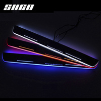 SNCN Trim Pedal LED Car Light Door Sill Scuff Plate Accessories For Audi A1 A3 A4 A5 A6 A7 S3 S4 S5 S6 RS4 RS5 RS7 B9 C7 Q3 Q5