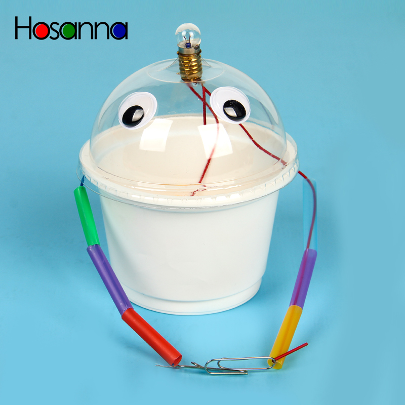 Hosanna Kids Conductor Detection Experiment Science Toys Kit Learning Physics Educational Toys For Children