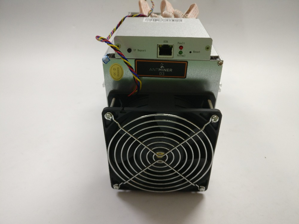 MINER ANTMINER D3 19GH/s 1200W On Wall (no Power Supply) BITMAIN X11 Dash Mining Machine Can Miner BTC On Nicehash