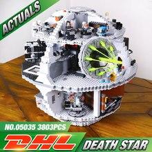 New Free Shipping LEPIN 05035 Star Wars Death Star 3804pcs Building Block Bricks Educational Toys Kits