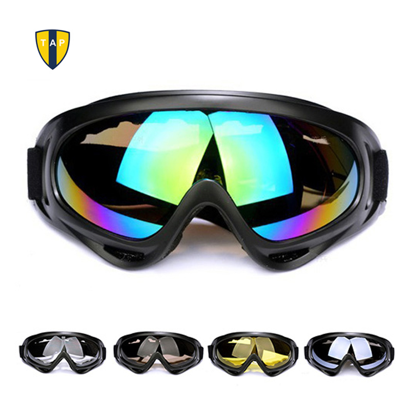 Skiing Eyewear Motorcycle Ballistic Goggles  Snowboard Glasses Touring Sunglasses Military Men Women 5 Colors Available