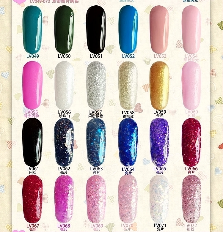 12PCS CHE soak off nail art led uv builder gel color set acrylic nail painting gel manicure drawing tools 84 colors available-in Nail Gel from Beauty ...