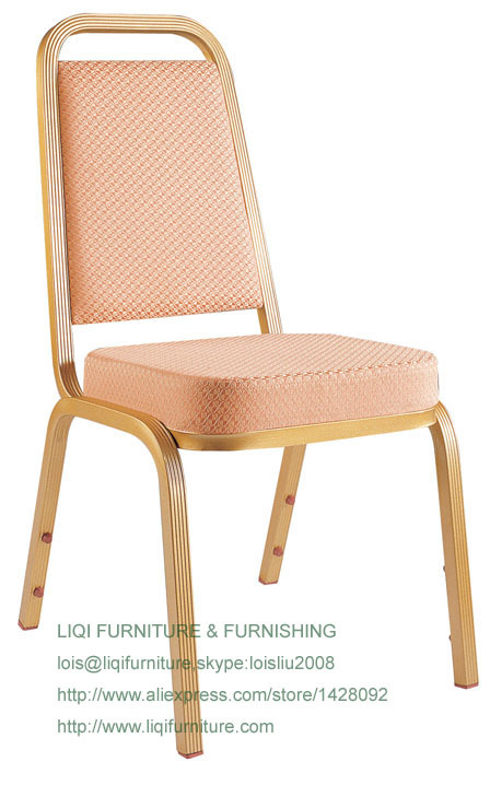 Wholesale Quality Strong Modern Aluminum Stacking Hotel Event Chairs LQ-L214