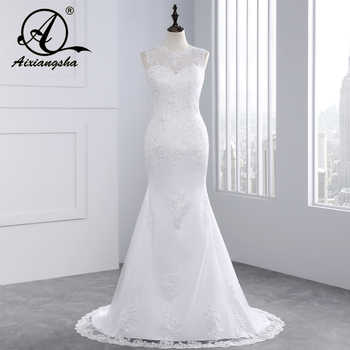 2018 Cheap Lace Mermaid Wedding Dress Country Western Wedding Dresses Vestido de Casamento Bride Dress Vestido de Novia Sirena - Category 🛒 Weddings & Events
