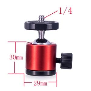 "Image 3 - Mini Ball Head 1/4"" Mount for Camera Tripod Spherical universal for Canon Nikon DSLR Camera Dsr Mount Stand for camera tripod"