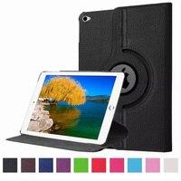 Dla Apple iPad Pro 12.9 case 360 Rotating PU Leather Skóry Ochronny Dla iPad Pro Pokrywa Tablet Akcesoria S4C28D