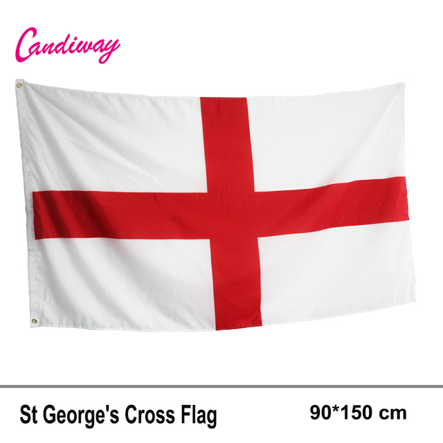 fae564a3 Flag of England 3x5 ft St George's Cross Red White English National Banner  Saint parade Festival